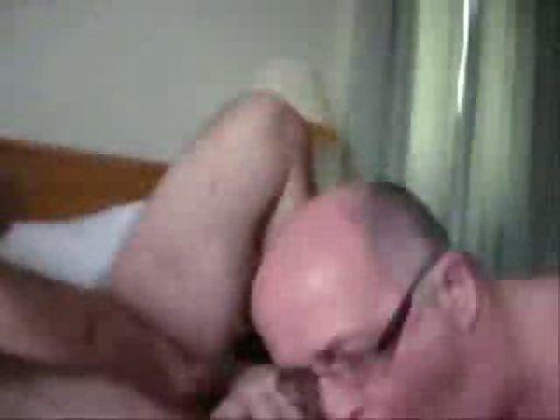 Older lesbians making out