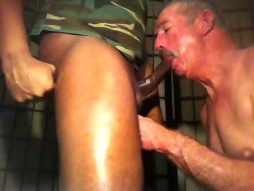 Black men sex old anal